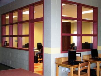 Hollow Metal Frames Amp Borrowed Lites 171 Security Door